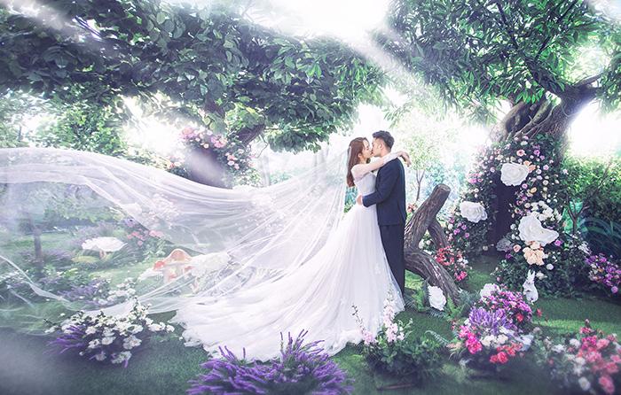 无锡婚纱_太郎花子婚纱摄影 秘密花园